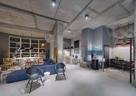 industrial office. Contemporary Industrial Modern Industrial Office Space Design On