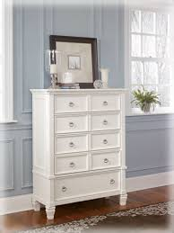 Amazon.com: Cottage Style White Prentice Bedroom Chest of Drawers ...