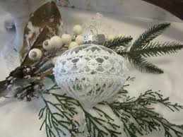Alte Christbaumspitze Weihnachtsbaum Spitze Weiß Silber