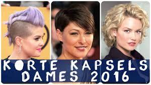 Korte Kapsels Dames 2016