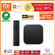 Tivi box Xiaomi Mibox S 4K 2019 Bản Quốc Tế Tiếng Việt tìm kiếm giọng nói -  Digiworld phân phối