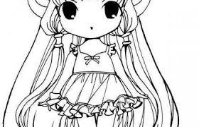 Chibi Coloring Pages Or Chibi A Colorier Frais Anime Color Page