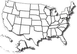 Printable map of us states without names maps usa with regard and