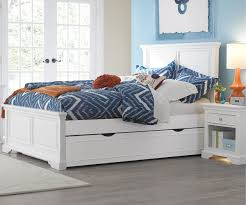 Full Bed With Trundle White \u2014 Kskradio Beds : Best Choice Bedding