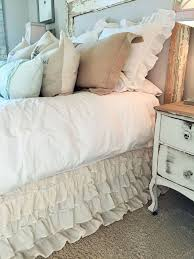 ruffle bed skirt only 35 house of hargrove