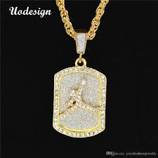 whole uodesign fashion design jewelry sport mens dog tag pendant necklaces for men military card hip hop men ewelry white gold pendant necklace small