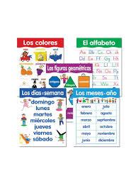 Shop Creative Teaching Press 5 Piece Spanish Basic Skill