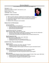 Pleasant International Resume Format Download In International