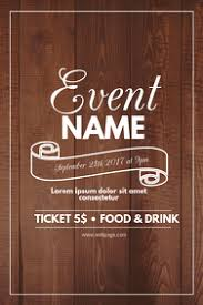 Event Flyer Templates Free Download Clipart Images Gallery