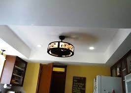 ceiling fan for kitchen with lights. Image Of: Light Decoration Ideas For Kitchen Ceiling Fan With Lights A