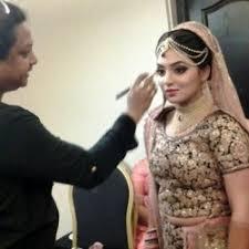 nazriya marriage makeup photos 8