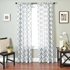 Navy Blue Patterned Curtains Best White Patterned Curtains Impressive Inspiration White Patterned