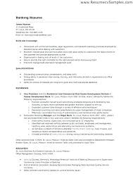 Sample Resume Bank Teller Best Of Banking Resume Objective Pleasing Sample Resume Objective Bank