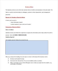 Memo Sample In Word 10 Examples In Pdf Word