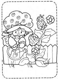 strawberry shortcake 999 coloring pages