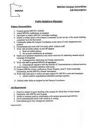 Leadership On A Resume Examples