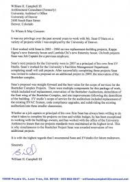 Letter Of Recommendation For University Projects Evstudio