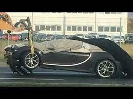 Bugatti has never officially revealed any images of the veyron being crashed tested but this set of the supercar completing a frontal impact crash test recently surfaced online. Bugatti Chiron Crash Test 200kmph Driving School 2017 Youtube