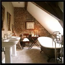 Offenes Badezimmer Im Dachgeschoss Wohndesign