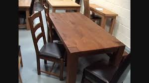 boston solid dark oak dining tables chairs benches and stools you