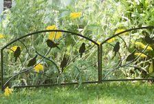 garden edging fence. 2 X Metal Bird Design Garden Edge Fence - Path \u0026 Driveway Border Lawn Edging E