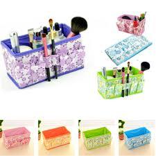 folding multifunction makeup cosmetic storage box conner case organizer ti uk