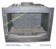 cast iron fireplace insert 1