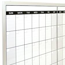 dry erase whiteboard calendar magnetic wall calendar lintang dry erase magnetic board 12 month magnetic dry erase white board calendars
