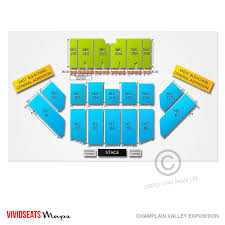Champlain Valley Fair Concert Seating Chart Champlain Valley Exposition Name