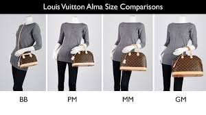 Louis Vuitton Pants Size Chart Lv Bag Sizing Guide Bb Pm Mm Gm Straight From Uk