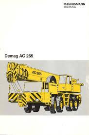 Demag Ac265 Manualzz Com