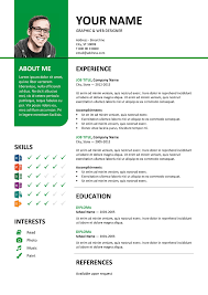 Bayview - Stylish Resume Template