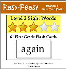 1st Grade Flash Cards Level 3 Sight Words 61 First Grade Flash Cards Easy Peasy Reading
