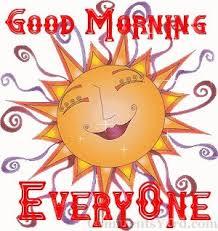 Selamat pagi!!