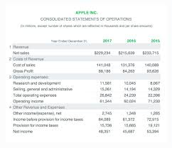 Financial Statement Examples Example Of Income Statement Financial Accounting Examples