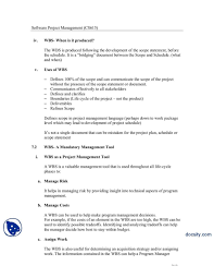 005 Template Ideas Statement Of Work Project Management