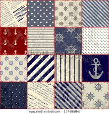 Seamless Background Pattern Will Tile Endlessly Stock Vector ... & Seamless background pattern. Will tile endlessly. Grunge patchwork in  nautical style Adamdwight.com
