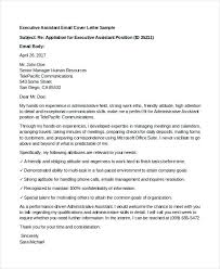 Administrative Assistant Cover Letter Example Sample Cover Letter ...