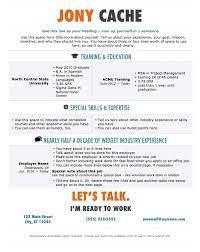 Prepossessing Office Resume Templates 2012 For Resume Template