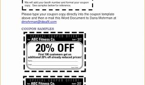 free coupon template word free printable invoice template word or 5 microsoft word coupon