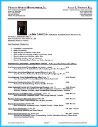 Coach Resume ...