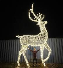 Christmas Decorative Outdoor Led Light Giant Reindeer Buy Large Outdoor Christmas Reindeer Light Outdoor White Lighted Reindeer Gold Outdoor Lighted