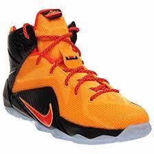 lebron youth shoes. nike lebron xii (gs) 685181-830 laser orange/crimson youth kids basketball shoes lebron i