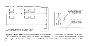 solar combiner box wiring diagram new solar panel connectors and Solar DC Disconnect Wiring Diagram solar combiner box wiring diagram beautiful ungrounded gfci wiring diagram free wiring diagrams
