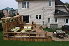 backyard deck design ideas. Interesting Design Elegant Deck And Patio Design Ideas Designs  With Backyard