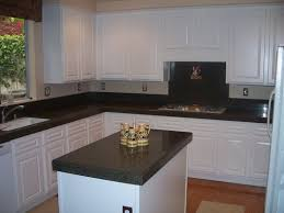 With Modern Style White Thermofoil Cabinet Doors Image 13 of 15