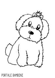 Disegni Di Cani Da Colorare Portale Bambini Disegni Coloring