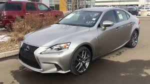 lexus is 250 2014 red. Simple 2014 2014 Lexus IS 250 AWD Atomic Silver On Red  Executive F Sport Package  Review YouTube Inside Is