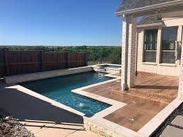 pool deck patio overlays and concrete