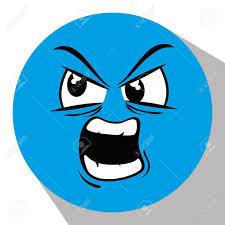 Cartoon Design Funny Emoticon Cartoon Design Vector Illustration Graphic